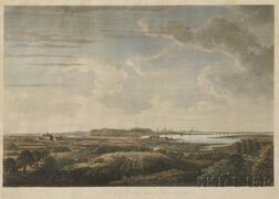 J. F .W. Des Barres, Esquire, publisher (18th-19th Century)      A View of Boston taken on the Road to Dorchester.