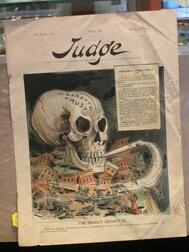 Early Anti-Smoking Cover of Judge
