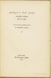 """Hart, George O. """"Pop"""" (1868-1933) Twenty-four Selections from his Work  , with Joseph & Jennie Hirshhorn's Bookplate."""