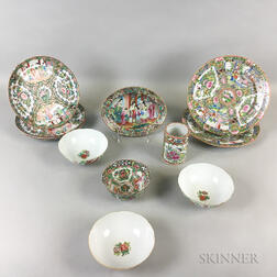 Twelve Enameled Items