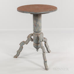 Gray-painted Pine Table