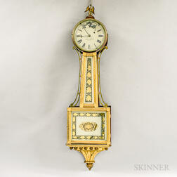 "Simon Willard Patent Timepiece or ""Banjo"" Clock"