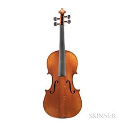 French Violin, Mirecourt, c. 1920