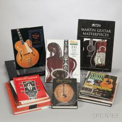 Large Group of Guitar Books