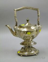 Gorham Sterling Silver Kettle on Stand with Burner