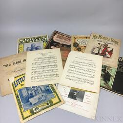 Large Collection of Sheet Music