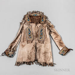 Northeast Deerskin Bead-decorated Coat