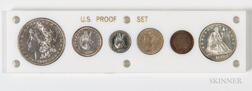 1887 Six-coin Proof Set