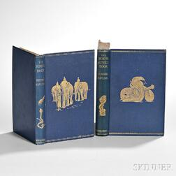Kipling, Rudyard (1865-1936) First and Second Jungle Books,   First English Editions.