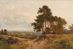 Attributed to Henry Walton (British, 1804-1865)      Edge of the Wood