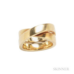 18kt Gold Ring, Cartier