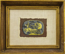 After Georges Braque (French, 1882-1963)      Phaeton (Char I)