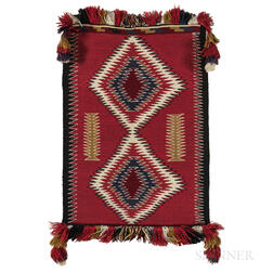 Small Navajo Germantown Weaving