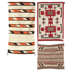 Three Navajo Textiles