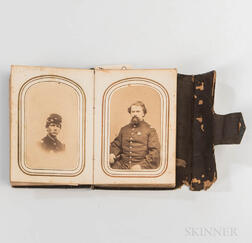Civil War Carte-de-visite Album