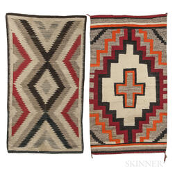 Two Navajo Wool Rugs