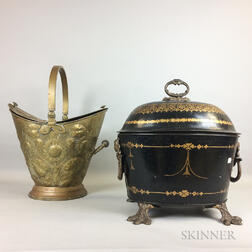 Two Ash Buckets
