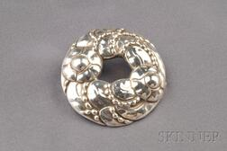 Sterling Silver Brooch, Georg Jensen
