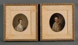 Two Anglo-American Portrait Miniatures