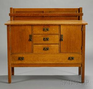 L. & J. G. Stickley Oak Sideboard