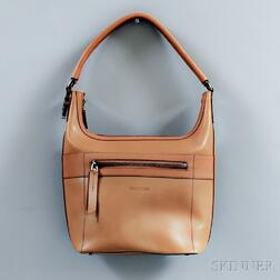 Gucci Camel Leather Hobo Bag