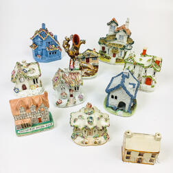 Ten Staffordshire Cottages