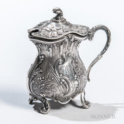 French .950 Silver Condiment