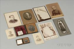 Family Mementos of Dr. Benjamin Rush and Dr. Squire Dickey