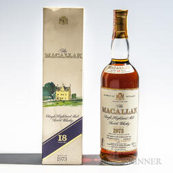 Macallan 18 Years Old 1973, 1 70cl bottle (oc)