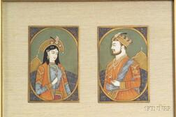 Indian Ivory Miniature Painting