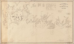 Geo. W. Eldridge's Chart -G- Penobscot Bay to Machias.