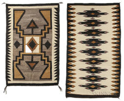 Two Navajo Regional Weavings