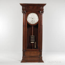 Mahogany Floor-standing Astronomical Regulator