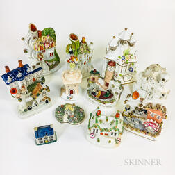 Twelve Staffordshire Cottages
