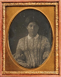 Ninth-plate Daguerreotype of a Black Woman