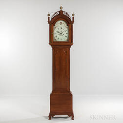 New England Cherry Tall Clock