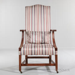 Mahogany Lolling Chair