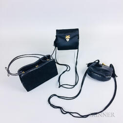 Three Judith Leiber Evening Bags