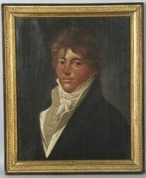 Attributed to Charles Delin (Maastricht and Amsterdam 1756-1829, active 1785-1825)  Portrait of a Gentleman.