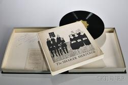 The Shaker Heritage   Boxed Record Set