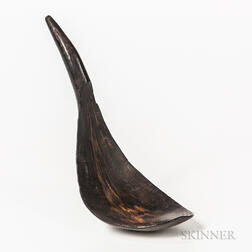 Northwest Coast Goat Horn Spoon