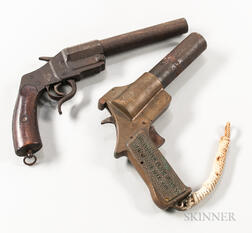Two Flare Guns
