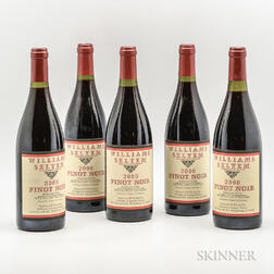 William Selyem Ferrington Vineyard Pinot Noir 2000, 5 bottles