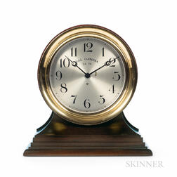 Exceptional 12-inch Chelsea Marine Clock for the USS Canberra Cruiser