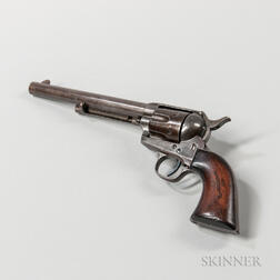 Colt Martially Marked Single-action Army Revolver