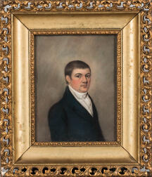 Anglo/American School, Early 19th Century      Portrait of James Gibbons