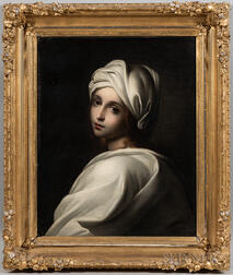 After Guido Reni (Italian, 1575-1642)      Copy of Portrait of Beatrice Cenci