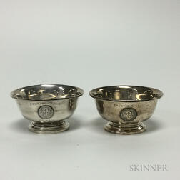 Two Sterling Silver Revere-style Bowls