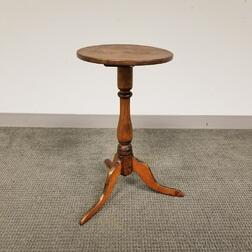 Queen Anne Maple and Pine Candlestand