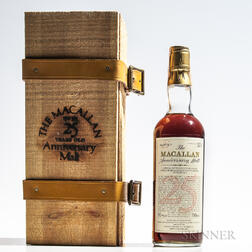 Macallan Anniversary Malt 25 Years Old 1957, 1 750ml bottle (owc)